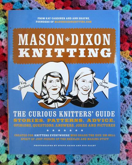 Mason-Dixon Knitting Book