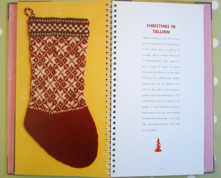 Sock pattern from Tallinn Advent Day 2