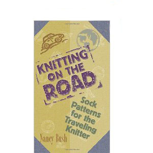 Knitting on the road for Prize Draw