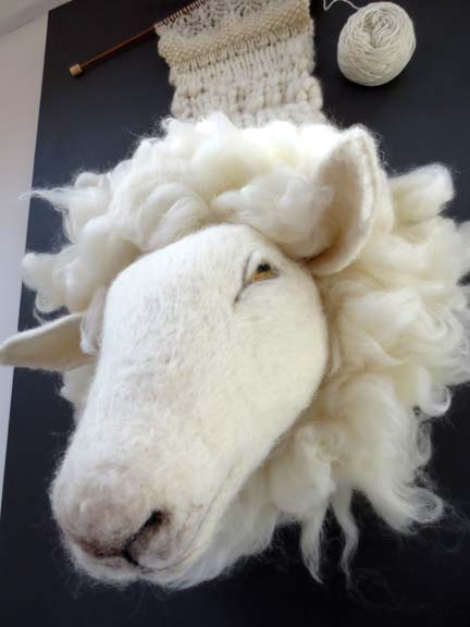 needlefelt sheep for NNOS 2013