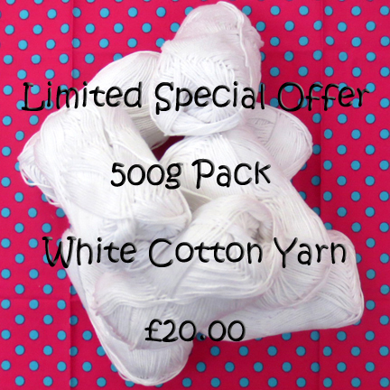 White Yarn Pack for Sale