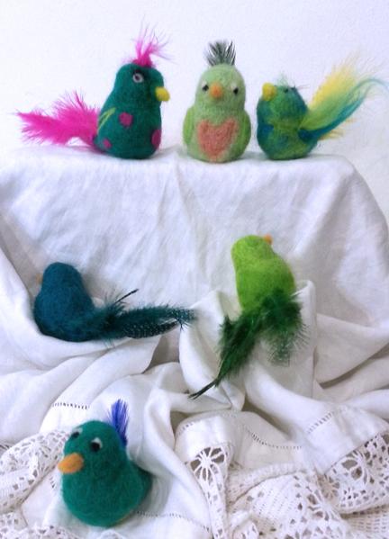 needlefelt birds29June