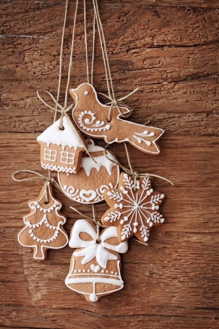 iced biscuits Christmas Countdown