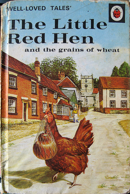 Little Red Hen Ladybird Book