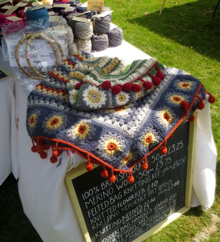 The Mercerie Crochet Blanket