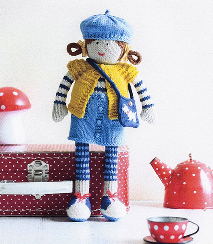 Jane - My Knitted Doll