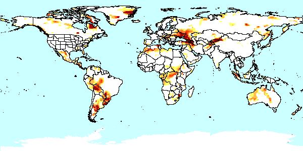 Drought mapserv