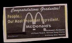mcdonalds ingredient people