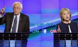 Dem debate - Hillary and Bernie
