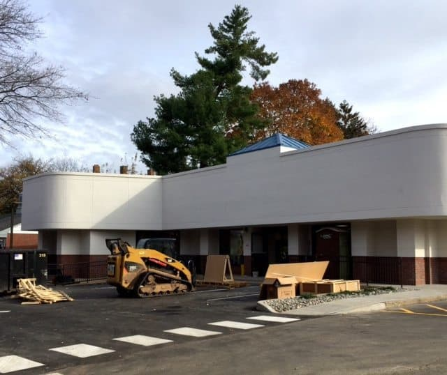 The front of 259 Nassau Street, soon to be a 7-Eleven.
