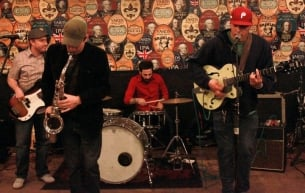 Chalk and the Beige Americans will perform in West Windsor Saturday night.