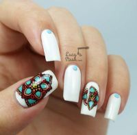 10 Beautiful nail art designs inspired by Indian motifs ...
