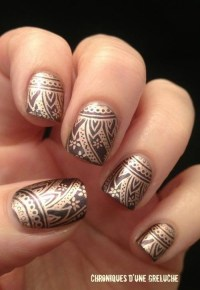 Nail art designs inspired by Indian motifs 06 | Indian ...