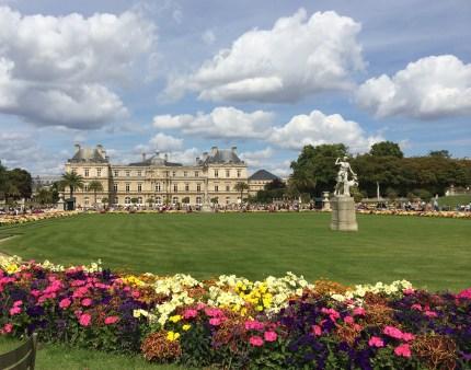 Luxembourg Gardens Paris France