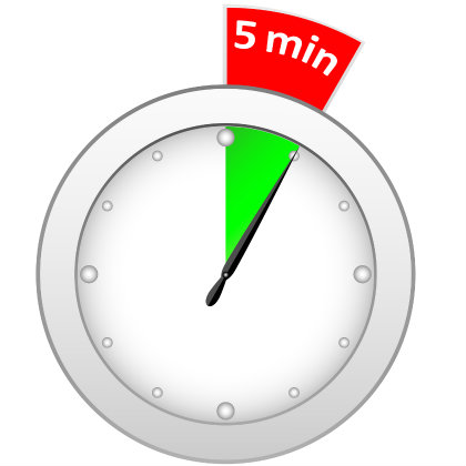 timer-5-minutes - PlannersWeb