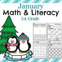 1st Grade Worksheets for January