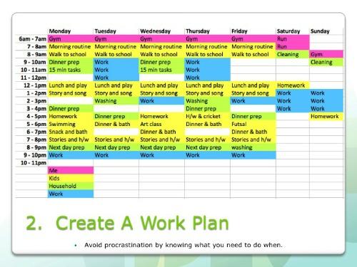 Time Management Tips Planning With Kids