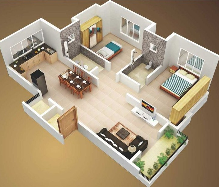 Pin by mohammed Al Khafaji on floor plans house 3D Pinterest