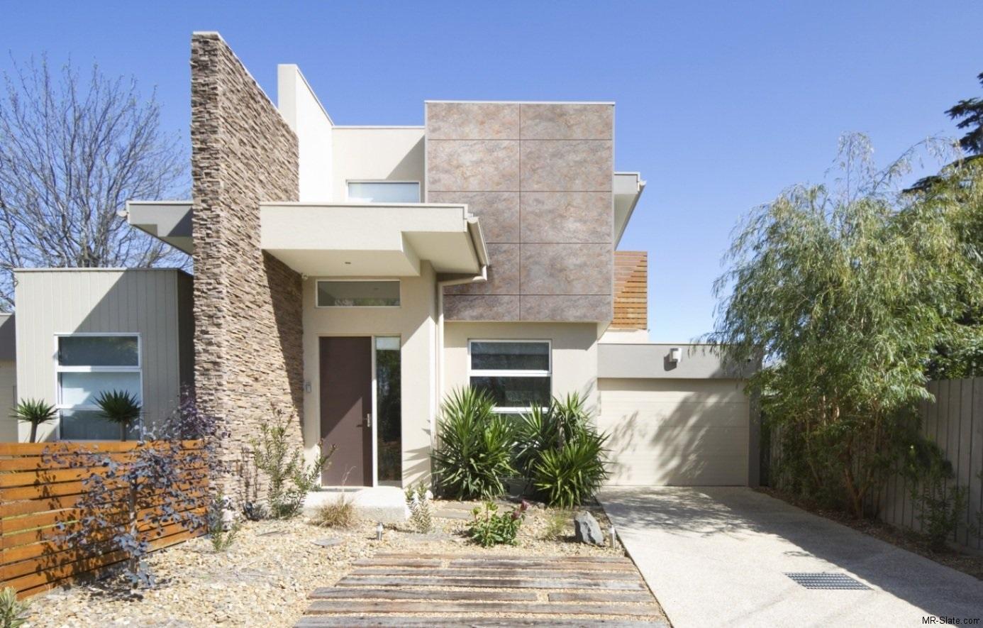 16 fachadas de casas con piedras planos y fachadas - Construccion casas de piedra ...
