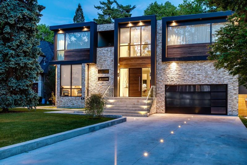16 fachadas de casas con piedras planos y fachadas - Tipos de piedras para fachadas ...