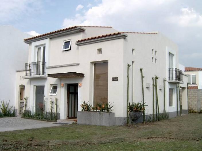 Fachadas de casas coloniales planos y fachadas todo for Casas estilo colonial mexicano moderno