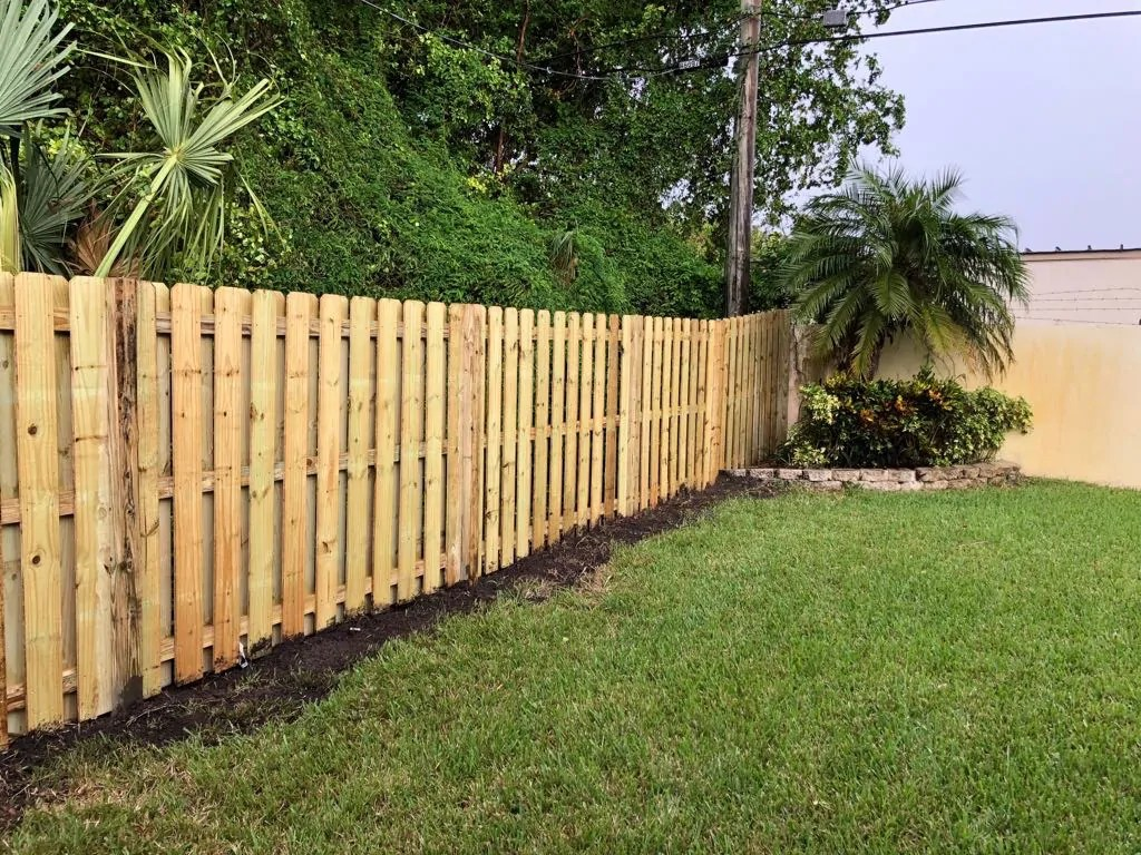 Backyard Fence Common Fencing Styles In Plantation Fl