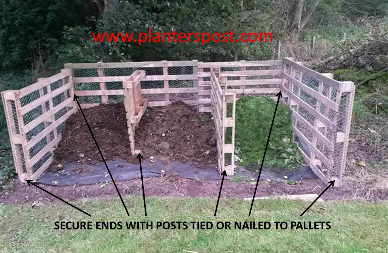 Compost Bins Australia Pallet Composting Bin Home Composting The Planters