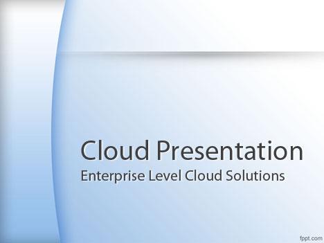 Plantillas PowerPoint para Computación en la Nube Plantilla - plantillas powerpoint