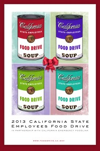 2013 State Employees Food Drive Poster
