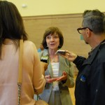 Secretary Ross was interviewed at the event by local radio stations KGO and KCBS.