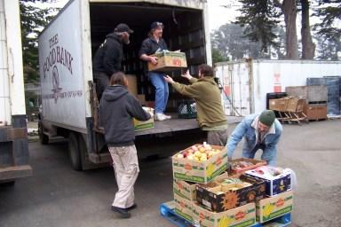 Fort Bragg FB - Unloading Salvage Truck 009