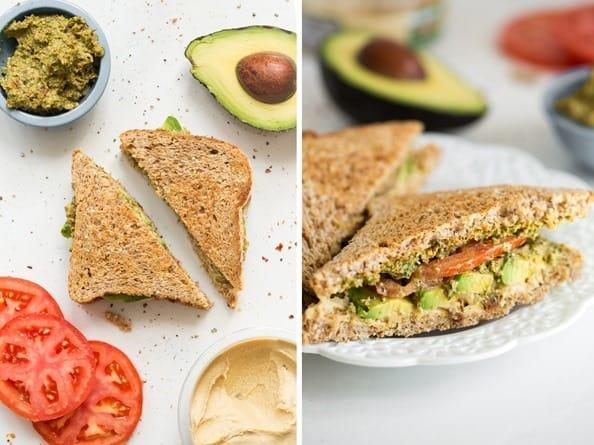 Oh She Glows' Ultimate 4-Layer Vegan Sandwich