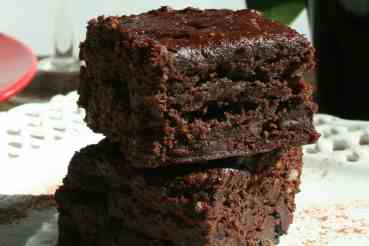 Vegan Brownies (Gluten-free, Oil-free)