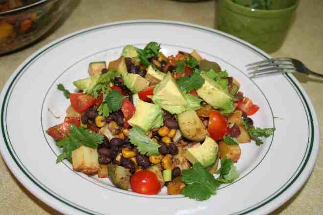 Fresh Mexican Skillet | Plantivores | Oil-free, Grain-free, Soy-free, Vegan
