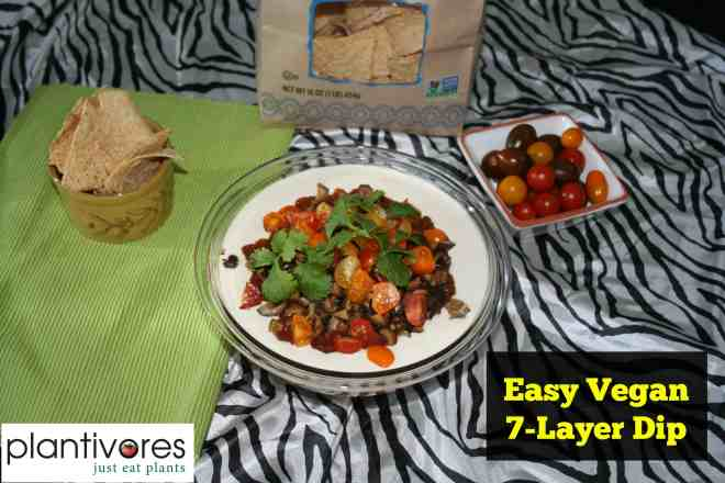 Easy Vegan 7-Layer Dip | Plantivores