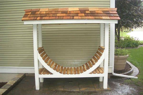 42 Simple Diy Firewood Rack Plans Ideas And Designs