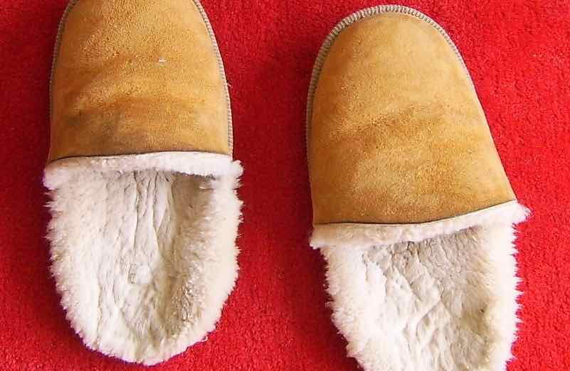 sheepskin slippers - 1