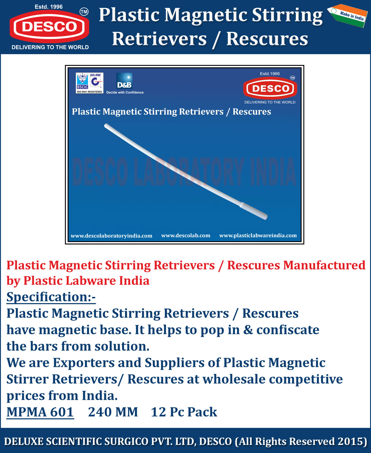 Manufacturers India Plastic Magnetic Stirring Manufacturers Exporters And