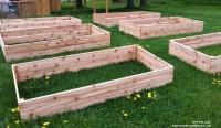 Cold Frame Covered Raised Garden Bed  Plastic Lumber ...