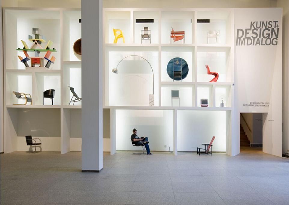 """Design-Abteilung """"Kunst und Design im Dialog"""" © MAKK/ Foto: RBA Köln, Marion Mennicken"""