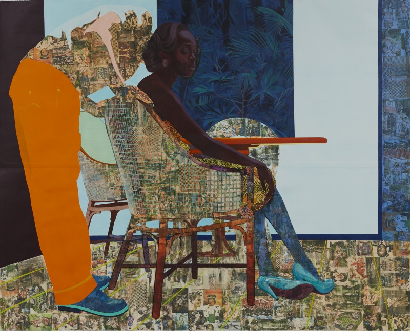 Njideka Akunyili Crosby, And We Begin To Let Go 2013