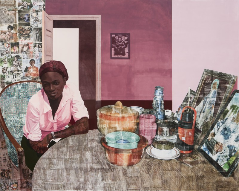 Njideka Akunyili Crosby, Mama, Mummy and Mamma 2014