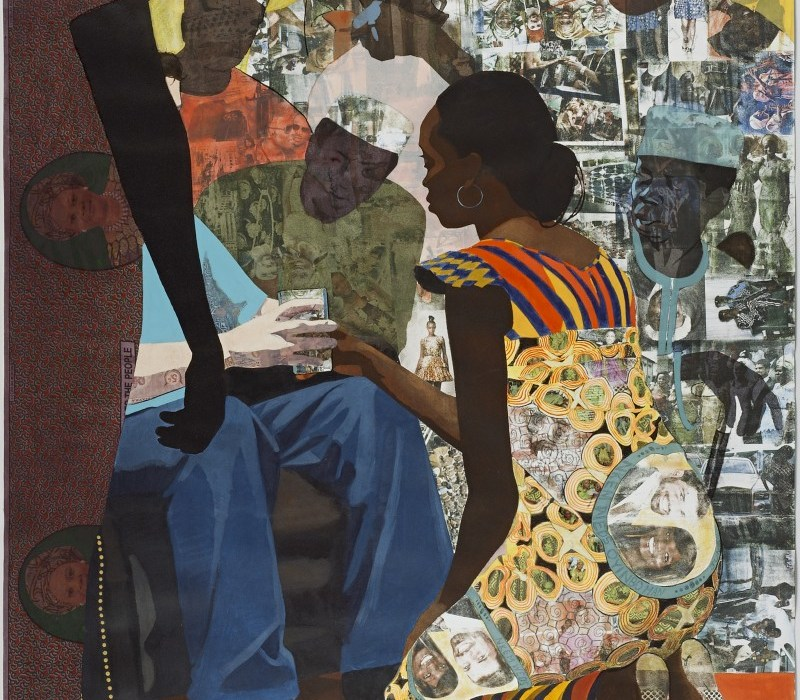Njideka Akunyili Crosby, Wedding Portrait 2012