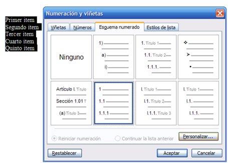 Tema 43 Formato especializado en los documentos (II) Secciones
