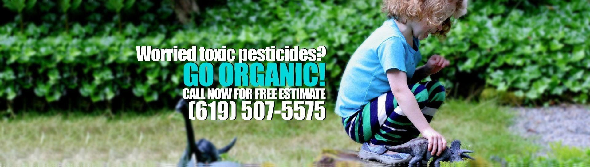 Worried Toxic Pesticides?