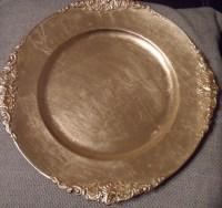 Gold Plastic Plates Bulk. 102 Pieces Gold Plastic Plates ...