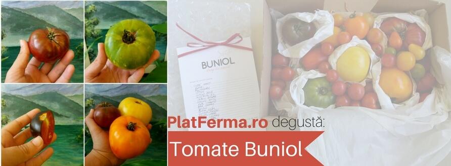 """Degustăm tomate Buniol, soiuri """"heirloom"""" crescute în România"""