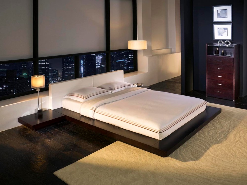 White Twin Bed With Storage Tokyo Platform Bed