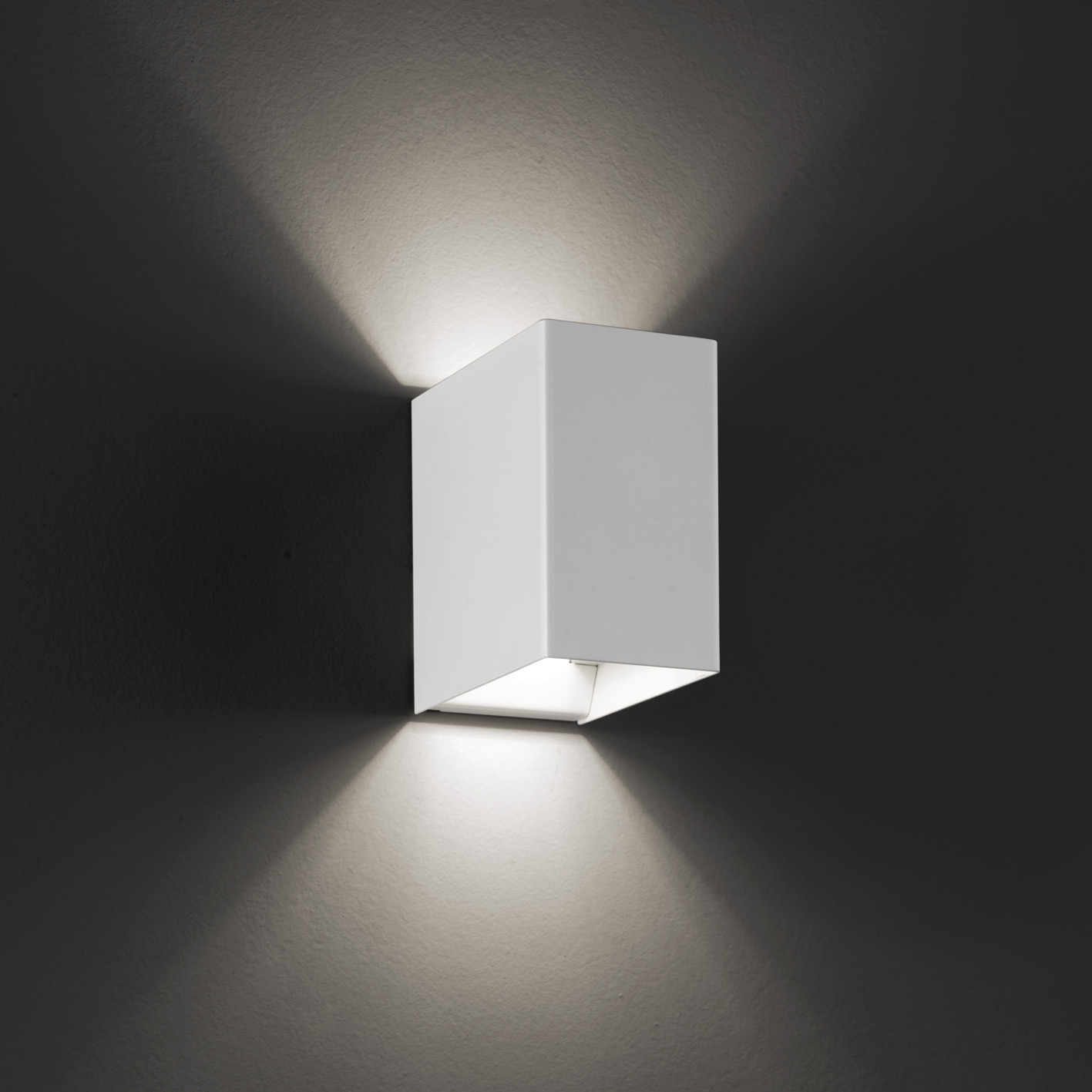 Led Wandlampe Laser Cube 10x6 Led Wall Light By Studio Italia Design