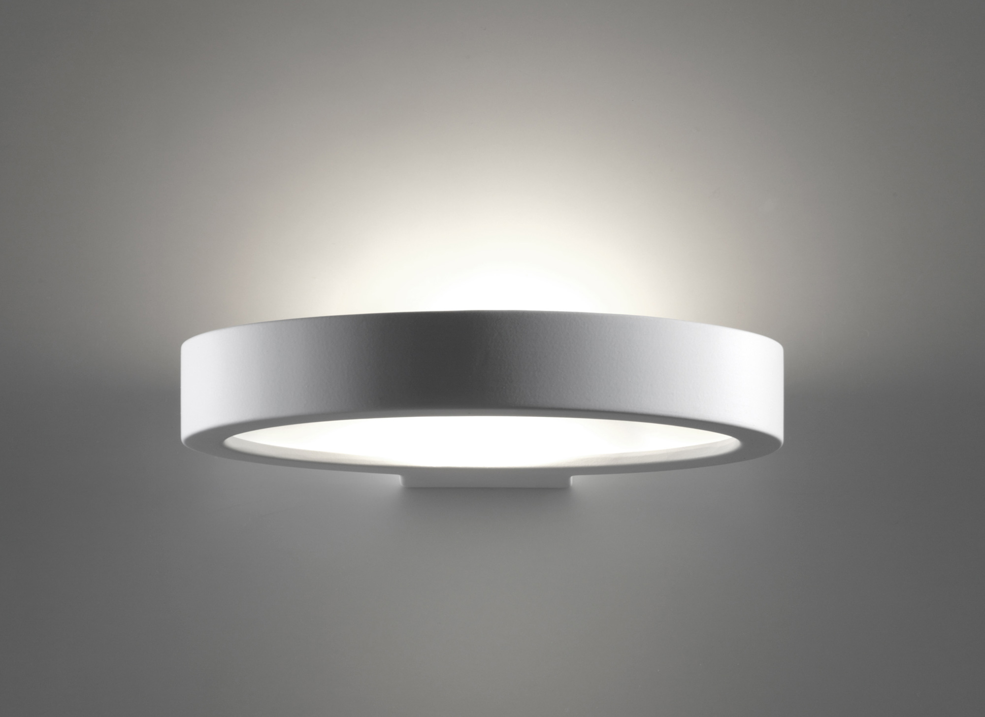 Applique in gesso belfiore artemide lampade soffitto lampada in